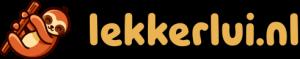 logo lekkerlui.nl - luiaard